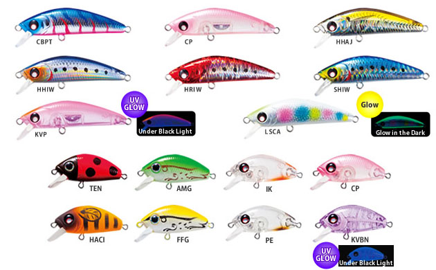 Yo-zuri L Minnow Heavy Weight & Single Hook